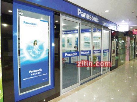 Panasonic自动门专卖店上,松下自动门专卖店