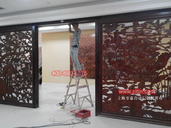 上海型材感应门