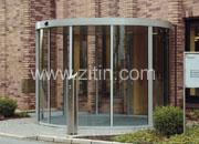 德国格屋自动门能够使入口区域实现独特设计风格的推拉门。