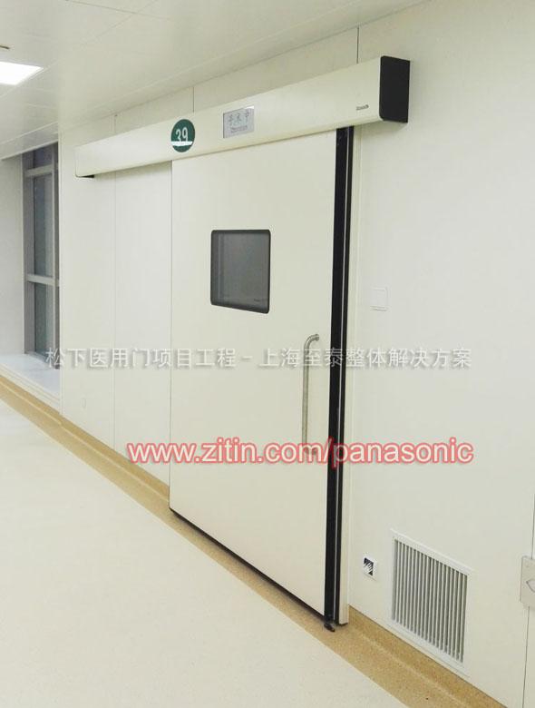上海松下医院感应门安装至泰维修保养